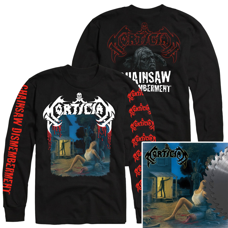 Chainsaw Dismemberment Longsleeve Shirt + Buzzsaw Edition 2LP Bundle