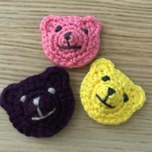 Mini Crochet Bears