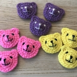 Mini Crochet Bears