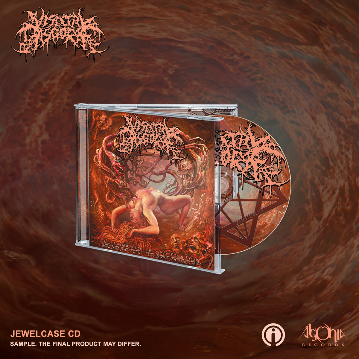 Slithering Evisceration CD + Face Bundle