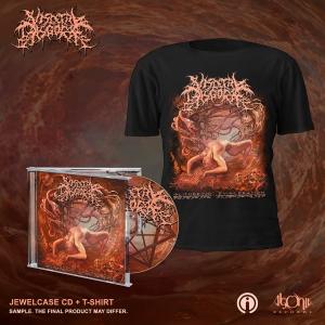 Slithering Evisceration CD + Cover Bundle