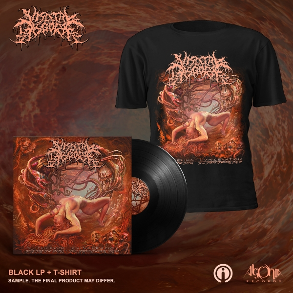 Slithering Evisceration LP + Cover Bundle