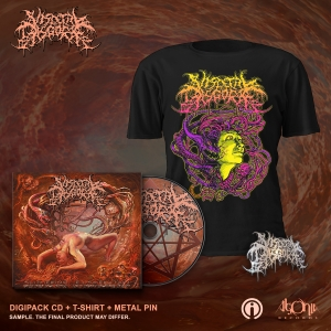 Slithering Evisceration Deluxe CD + Face Bundle