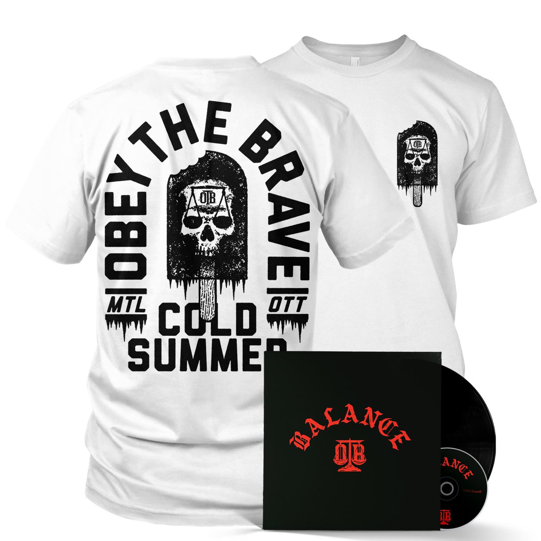 Cold Summer (White) LP/CD/Tee Bundle