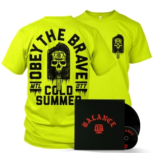 Cold Summer (Neon Yellow) LP/CD/Tee Bundle