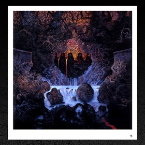 Entombed. (Clandestine 1991) Album Cover