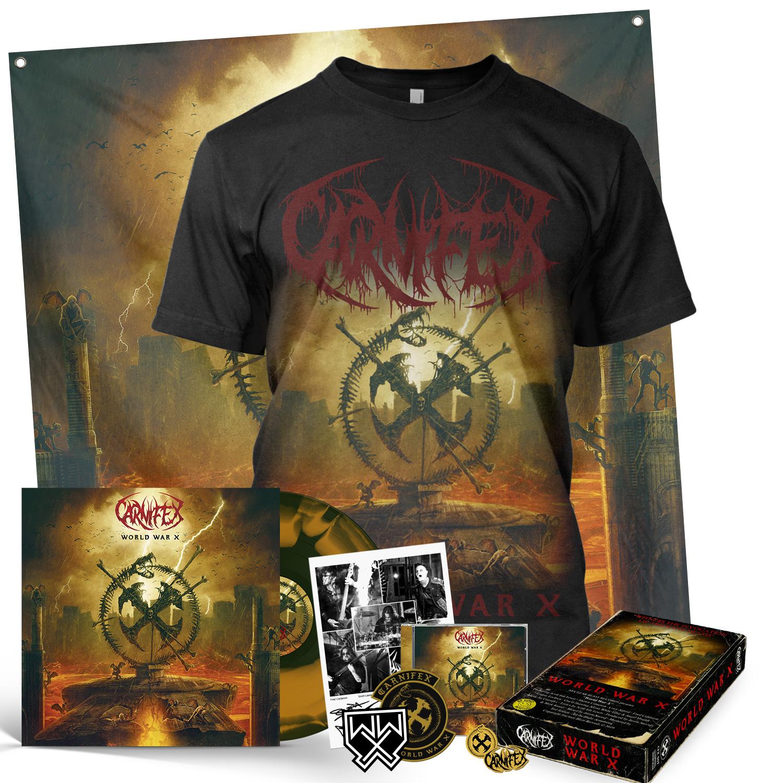 World War X Deluxe CD + LP Bundle