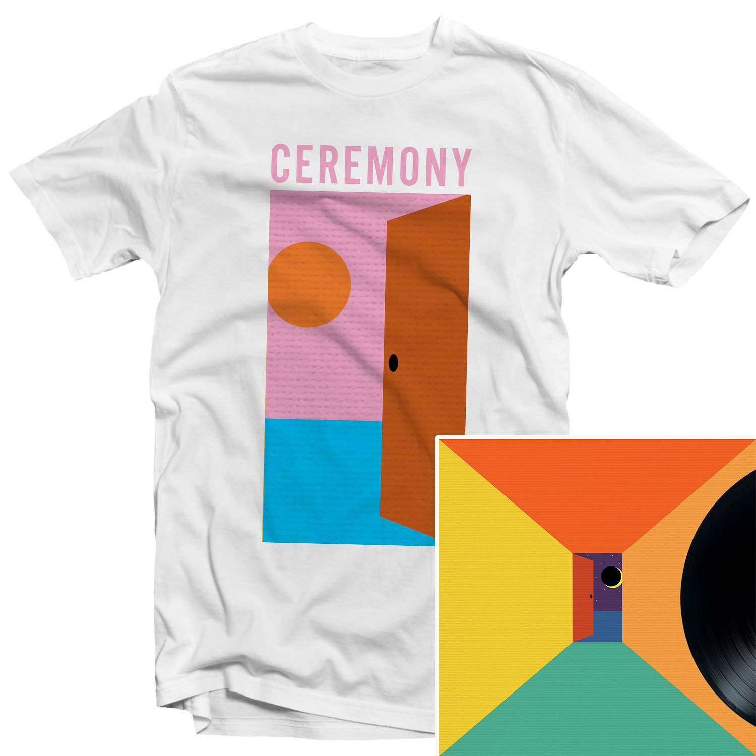 In The Spirit World Now (Day) T Shirt + LP Bundle