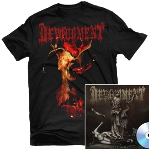 Obscene Majesty T Shirt + CD Bundle