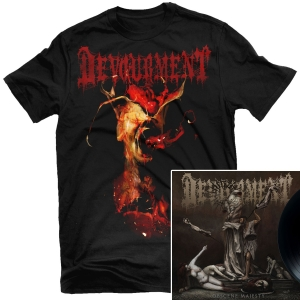 Obscene Majesty T Shirt + LP Bundle