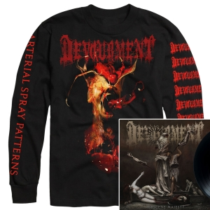 Obscene Majesty Long Sleeve Shirt + LP Bundle