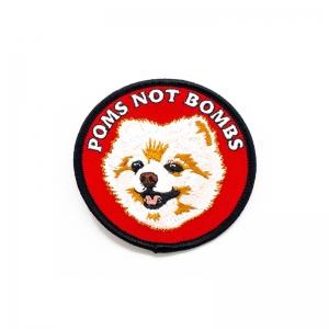 Poms Not Bombs Romy Patch