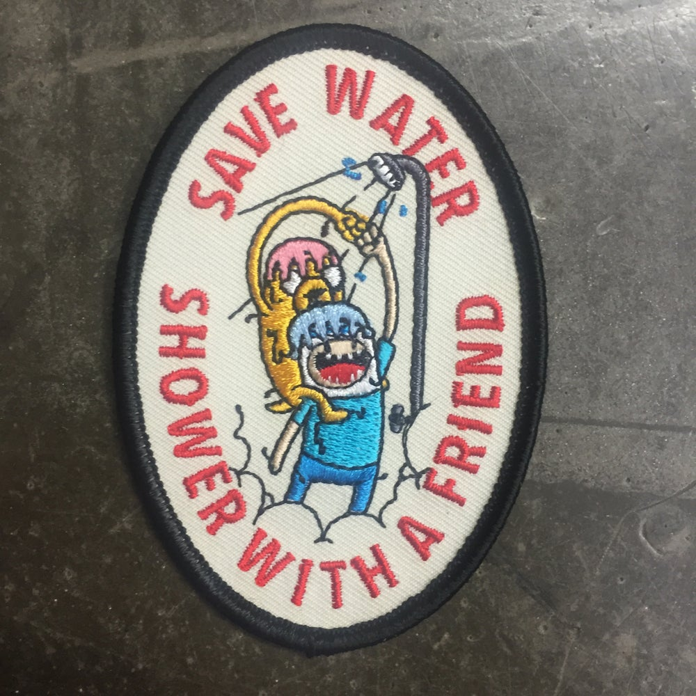 Save Water Patch