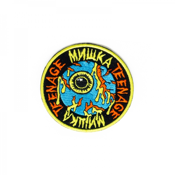 Mishka x Teenage: Keep Watch Earth Patch