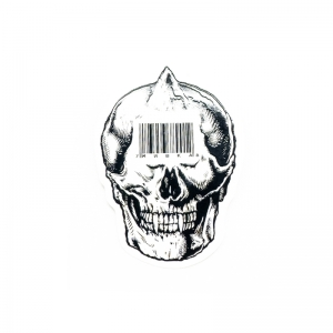 Barcode Simon Sticker