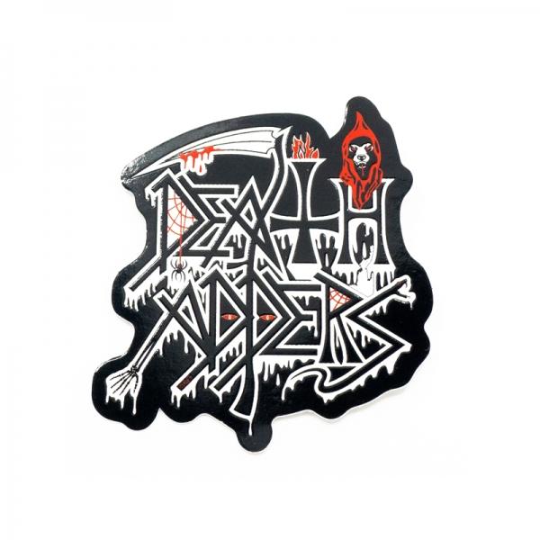 Addicted To Death Sticker