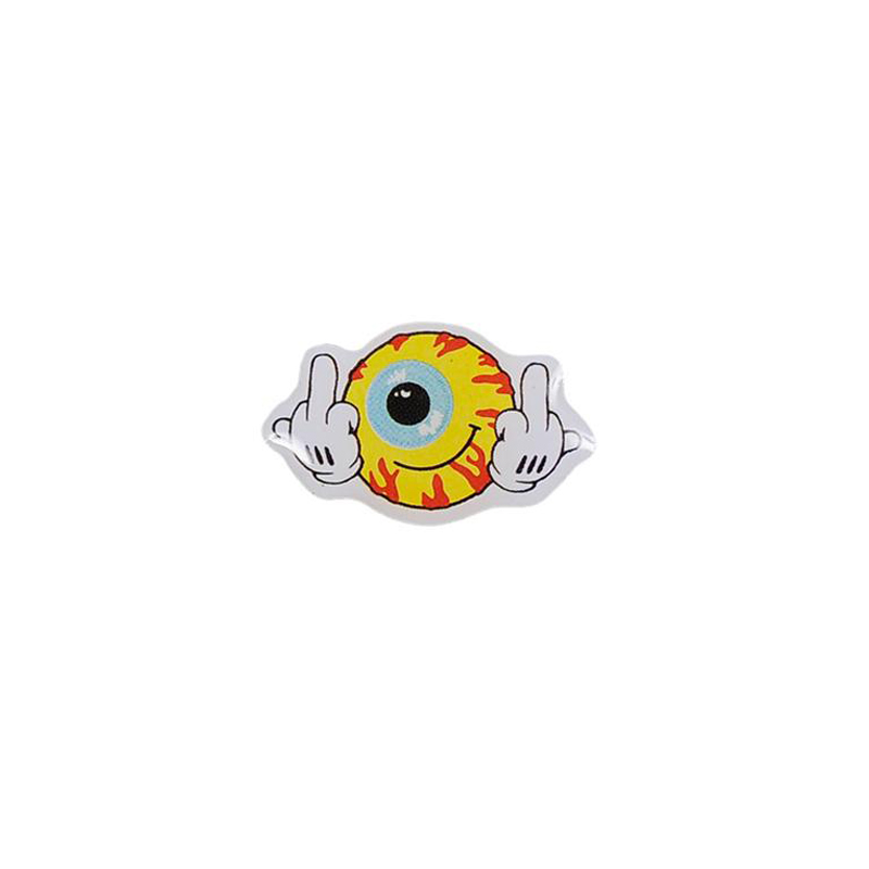 Keep Watch Fingers Up Pin