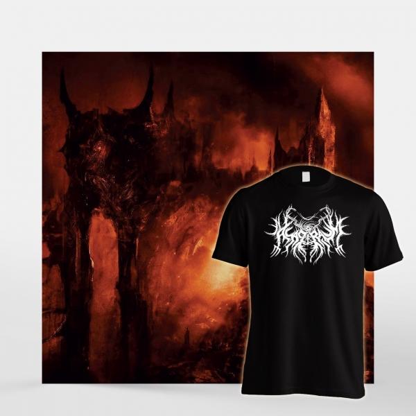 Asagraum 'Dawn of Infinite Fire' CD + T-Shirt Bundle