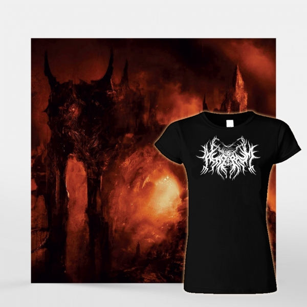 Asagraum 'Dawn of Infinite Fire' CD + Girlie Bundle
