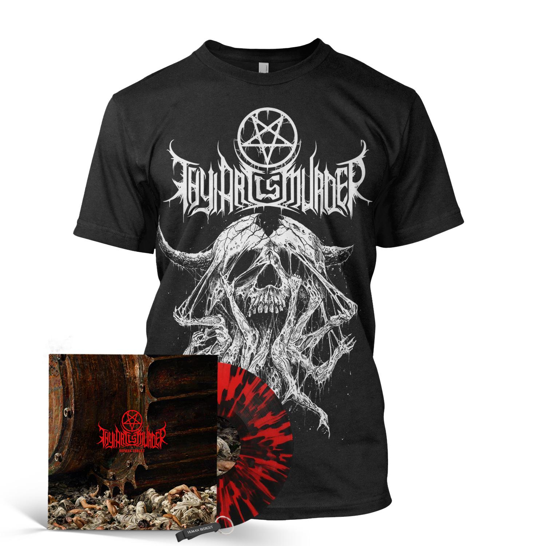 Atonement Vinyl Bundle (Red/Black Splatter Import)