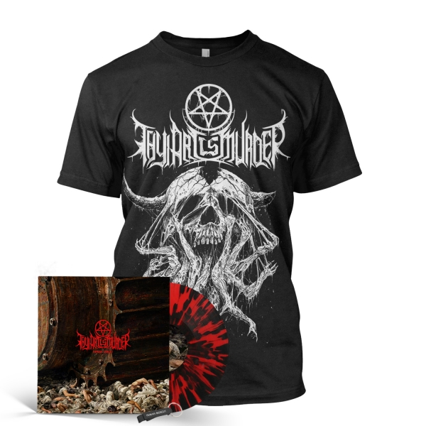 Atonement Vinyl Bundle (Red/Black Splatter Import)