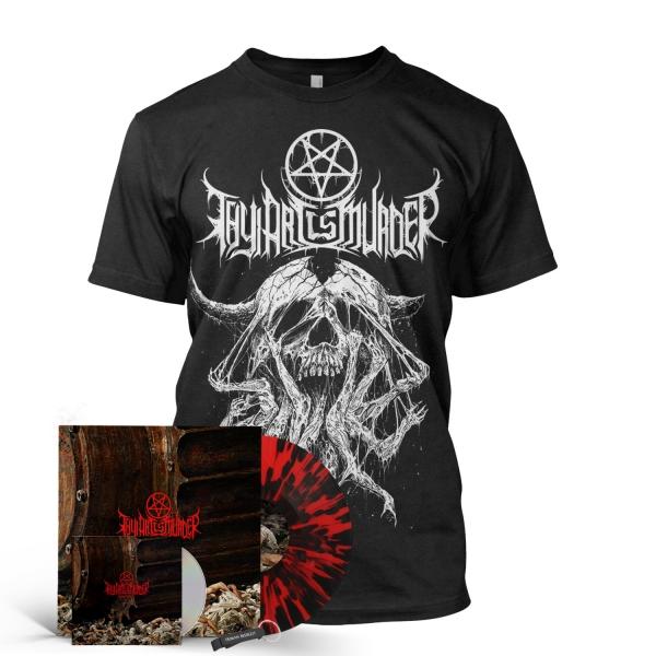 Atonement CD/Vinyl Bundle (Red/Black Splatter Import)