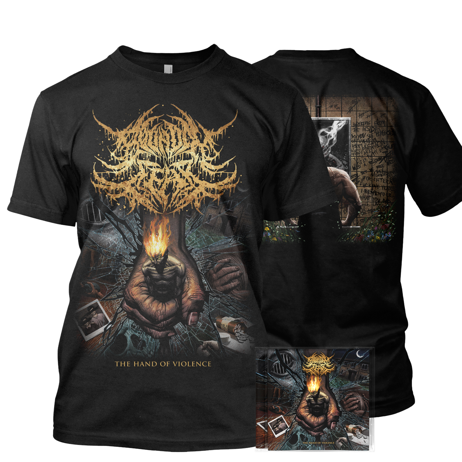 The Hand of Violence CD + Tee Bundle