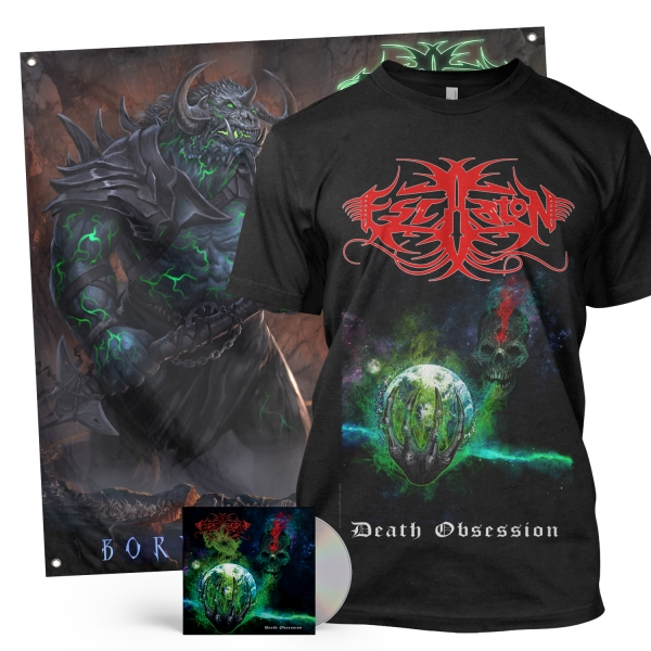 Death Obsession CD + Tee Bundle