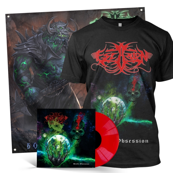 Death Obsession LP + Tee Bundle