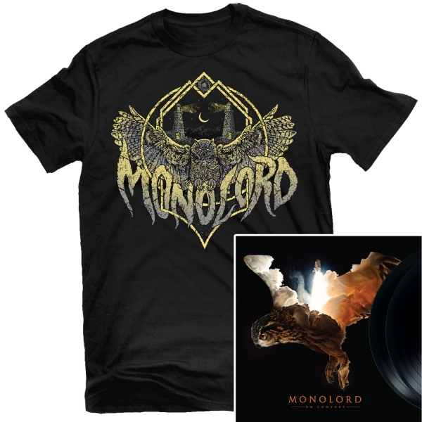 No Comfort T Shirt + 2LP Bundle