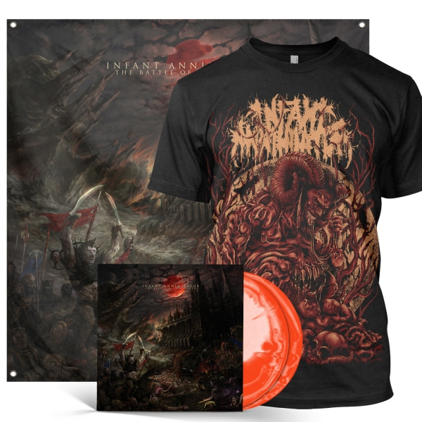 The Battle of Yaldabaoth Deluxe 2xLP Bundle
