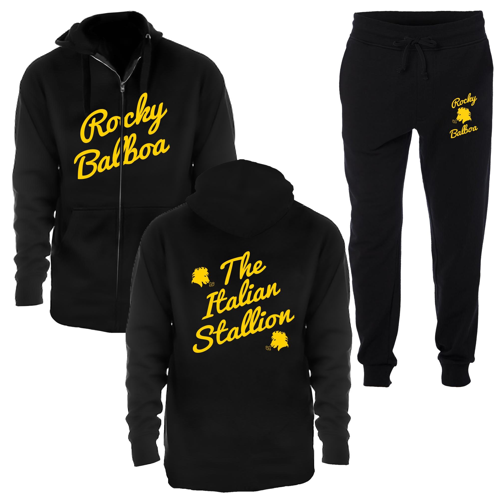 Rocky Balboa Italian Stallion Jogging Suit