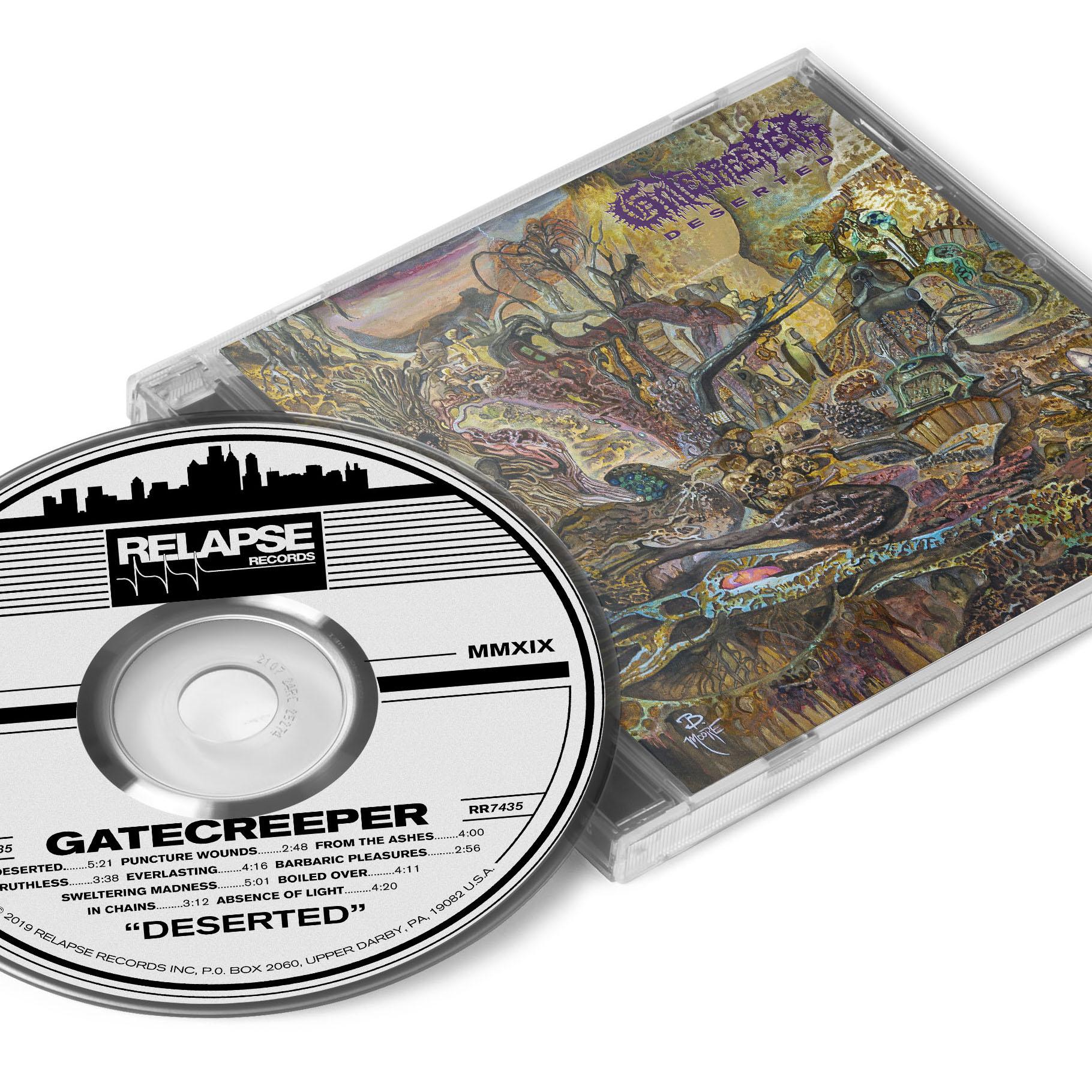 Deserted Pullover Hoodie + CD Bundle