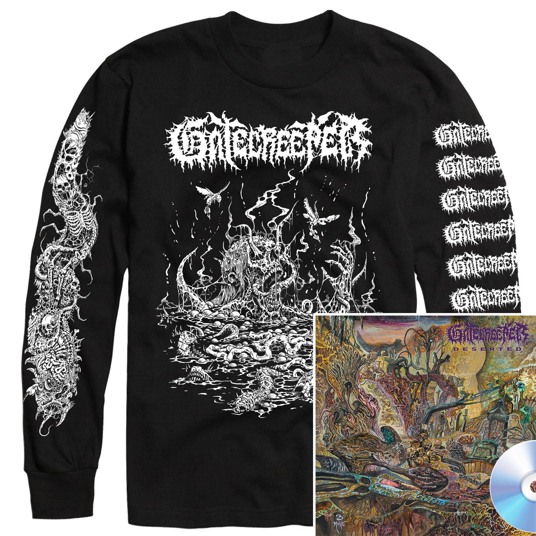 Deserted Longsleeve Shirt + CD Bundle