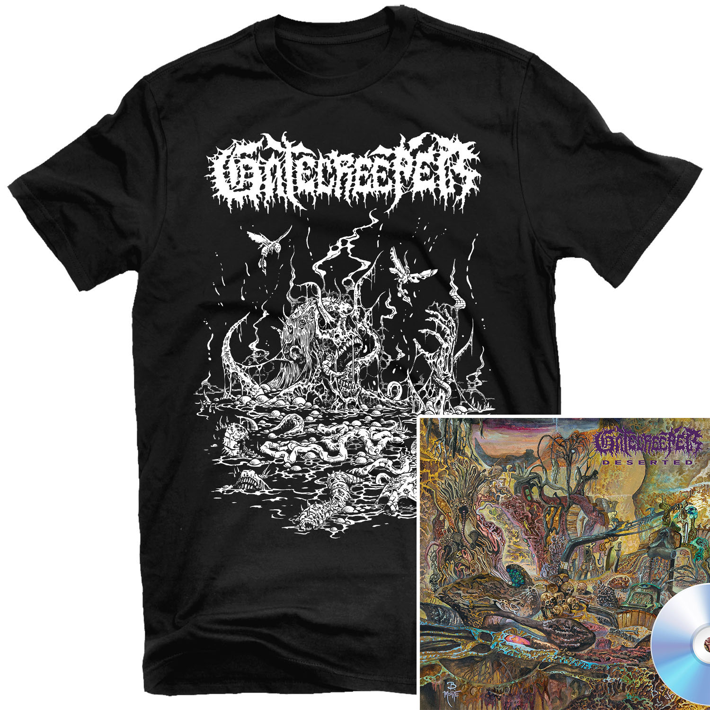 Deserted T Shirt + CD Bundle