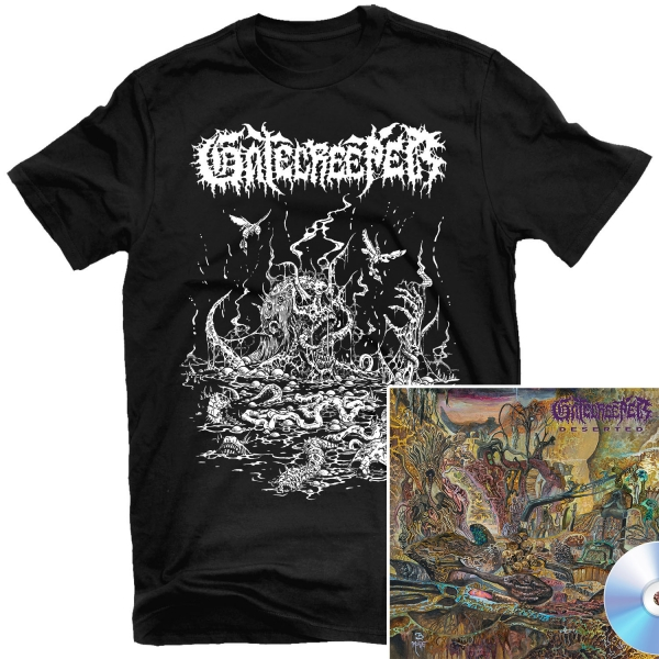 Deserted T Shirt + CD Bundle