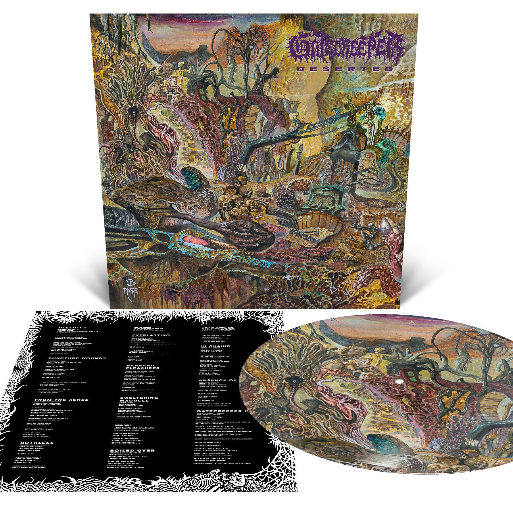 Deserted Pullover Hoodie + LP Bundle