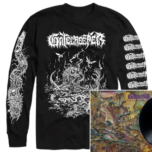 Deserted Longsleeve Shirt + LP Bundle