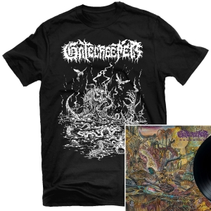 Deserted T Shirt + LP Bundle