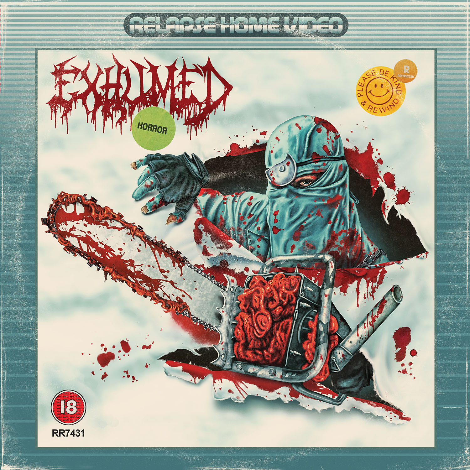 exhumed horror LP Cassette Shirts