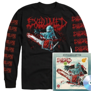 Horror Longsleeve Shirt + CD Bundle