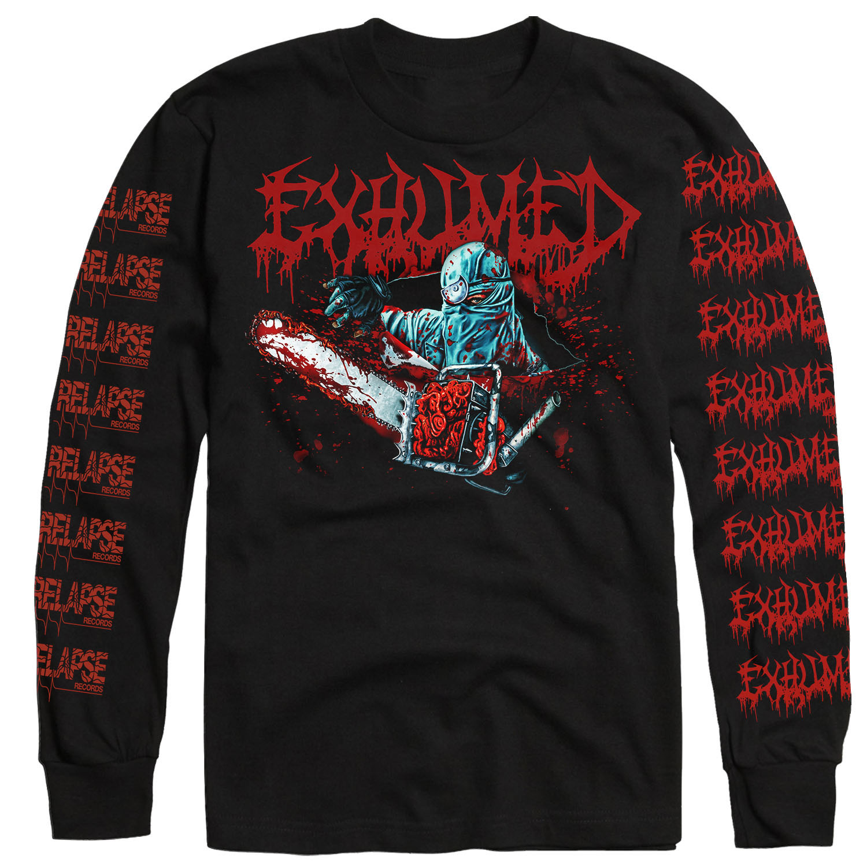Horror Longsleeve Shirt + CD Bundle
