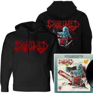 Horror Pullover Hoodie + LP Bundle