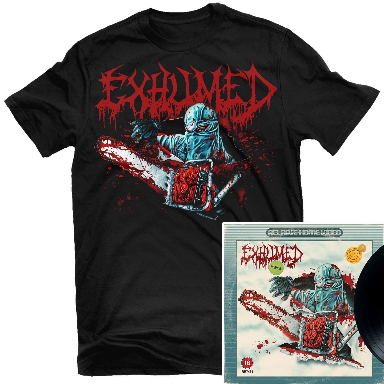 Horror T Shirt + LP Bundle