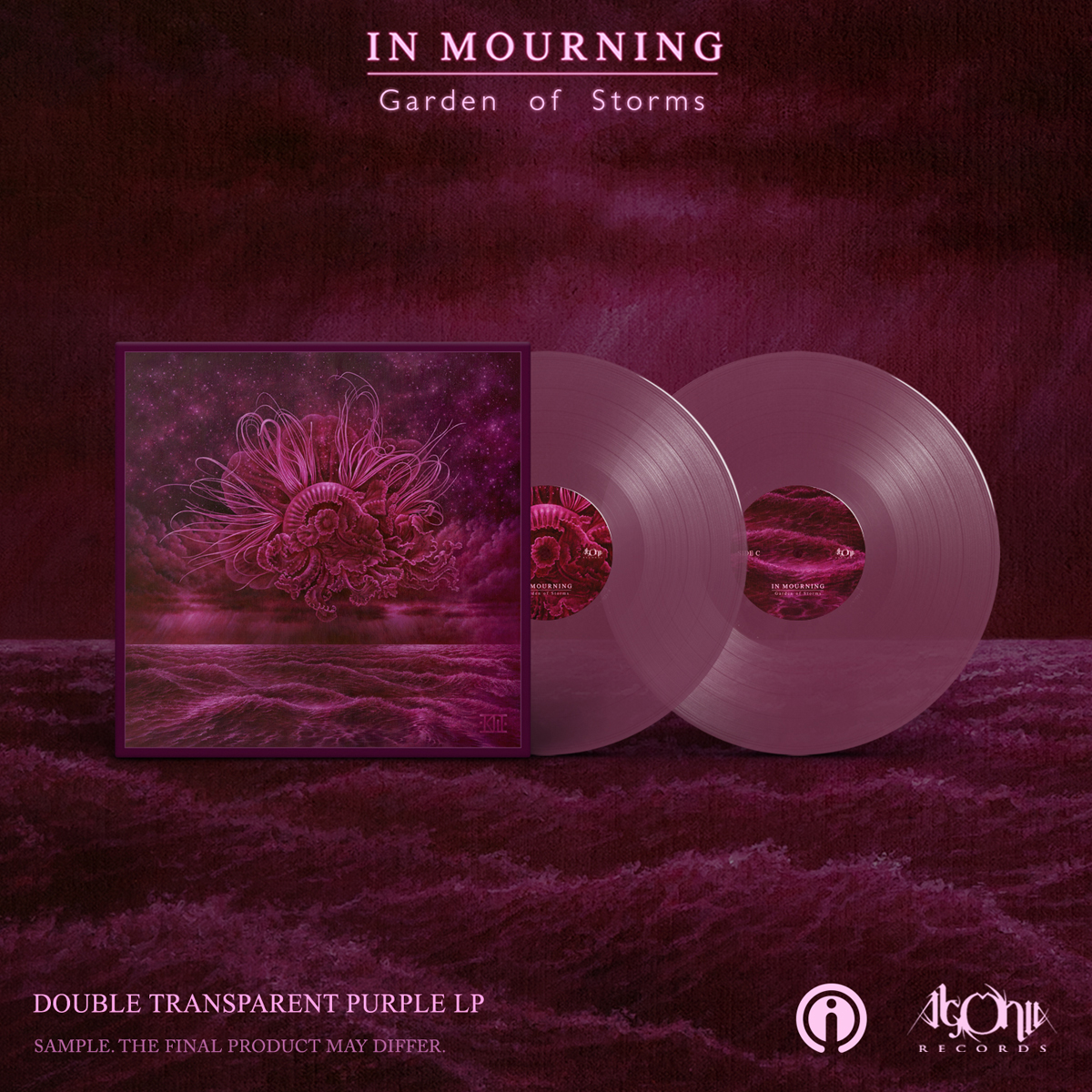 Garden of Storms Purple LP + Tee Bundle