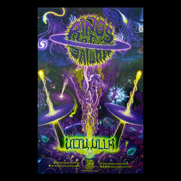 Ultu Ulla Album Release Tour Poster