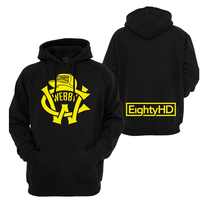 Classic CW Logo Hoodie with EightyHD