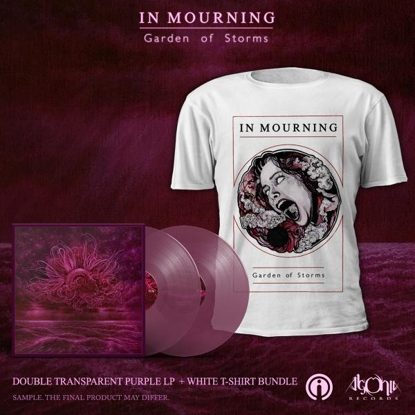 Garden of Storms Purple LP + Tee Bundle