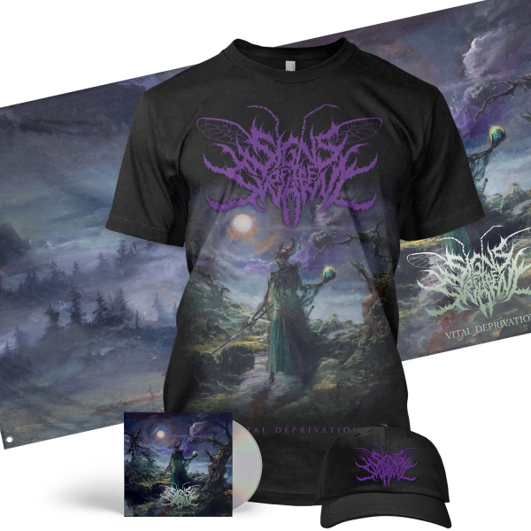 Vital Deprivation Deluxe CD + Tee Bundle