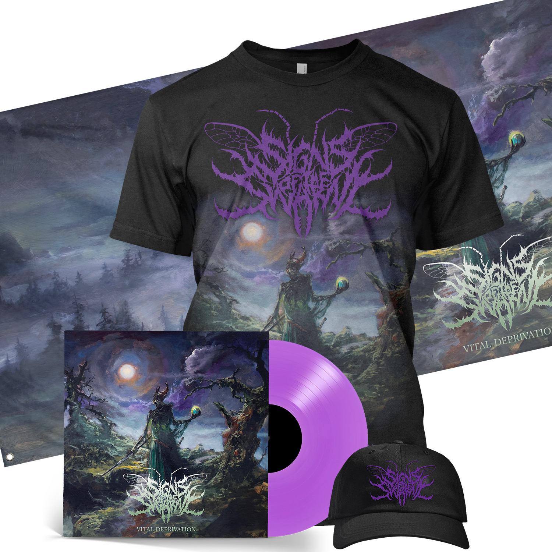 Vital Deprivation Deluxe LP + Tee Bundle